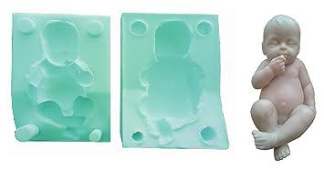 Inception Pro Infinite Molde de Silicona para bebé recién Nacido de Uso Artesanal con Chupete DIY