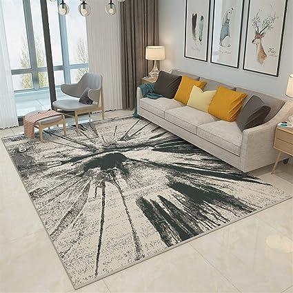 Ommda tappeti Salotto Soggiorno Moderni Home Stampa 3D Astratta tappeti  Soggiorno Pelo Corto Antiscivolo Lavabili 120x160cm 9mm