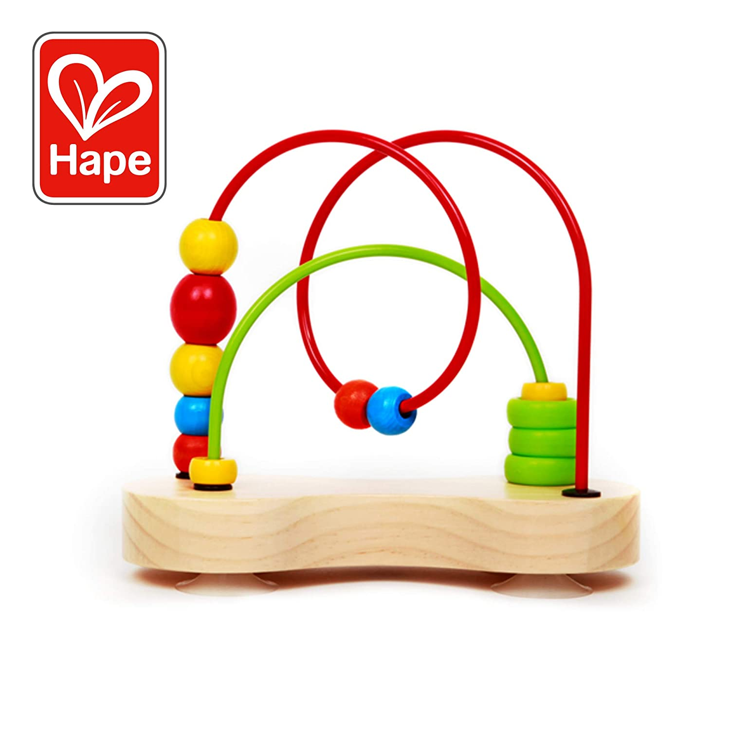Award Winning Hape Double Bubble Wooden Bead Maze