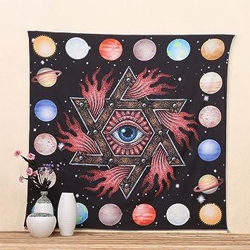 Etopfashion Wanddekoration Mandala Hippie Stickerei Dekoration Der