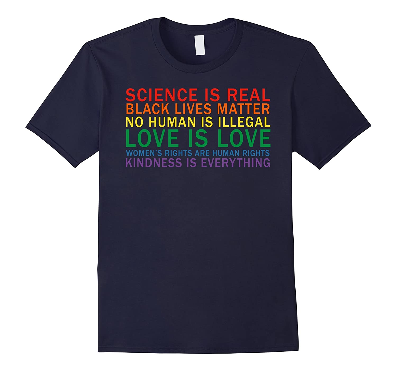 Love Is Kindness T-Shirt Black Lives LGBT Equality Feminist-BN