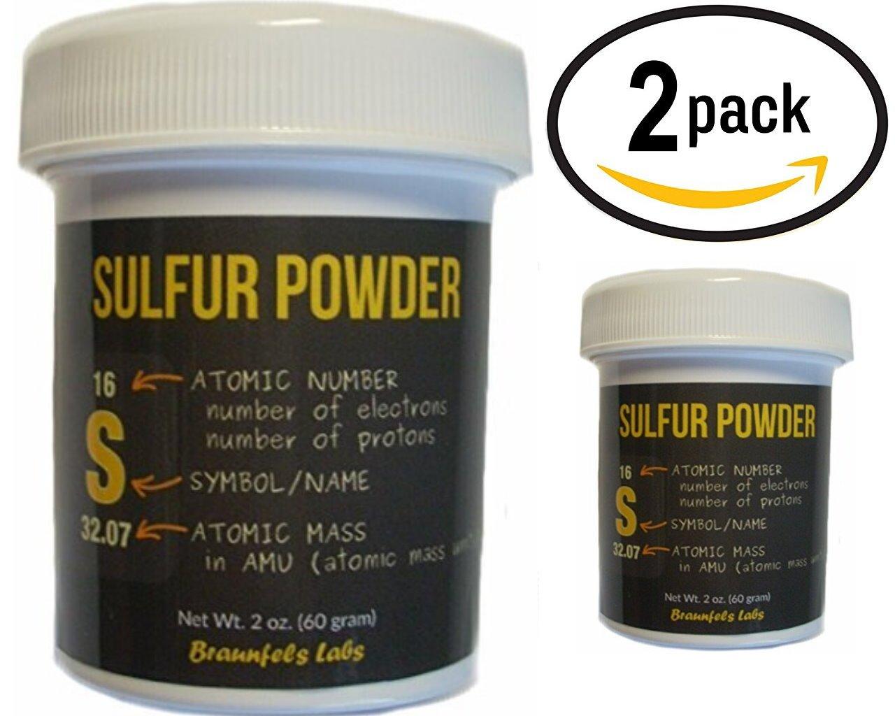 2 Pack - Braunfels Labs Sulfur Powder - Very