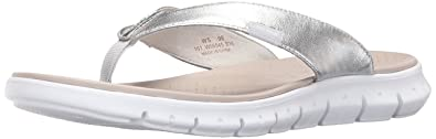 8cf85de67bf Cole Haan Womens Zerogrand Sandal Argento Metallic 9.5 B - Medium