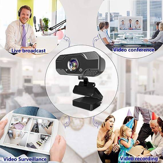 I10 w933 USB 2.0 Webcam Telecamera con microfono 5 Glass pieghevole per PC Portatile