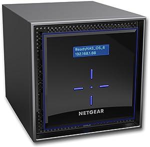NETGEAR ReadyNAS RN424D2 4 Bay 8TB Desktop High Performance NAS, 40TB Capacity, Intel 1.5GHz Dual Core Processor, 2GB RAM, RN424D2-100NES