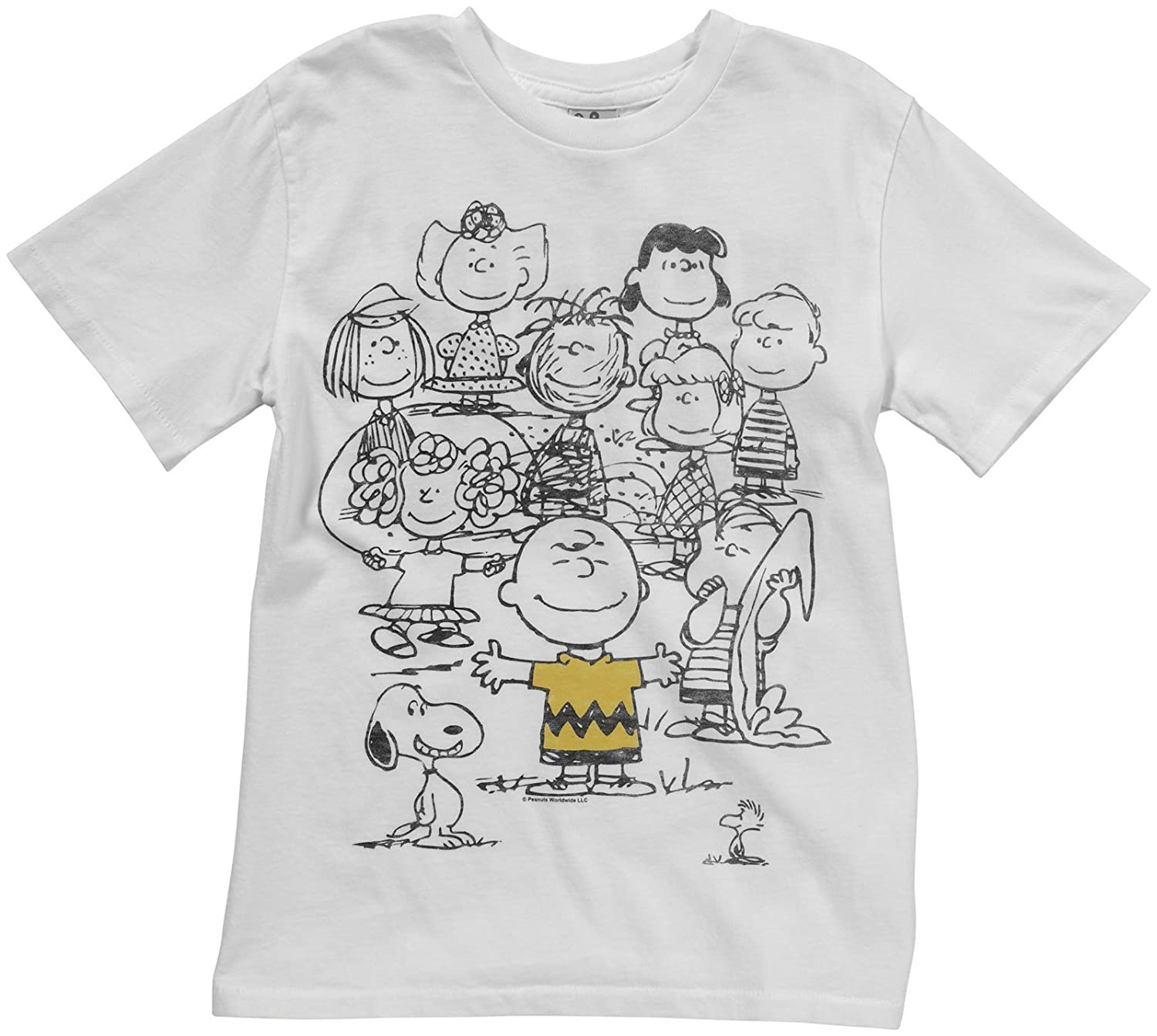 Amazon Com Junk Food Boys T Shirt Peanut Gang Clothing