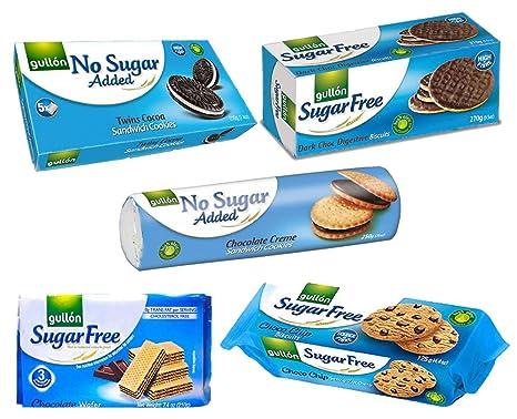 Gullon sugar free biscuits chocolate selecion x 5 packs amazon gullon sugar free biscuits chocolate selecion x 5 packs negle Images