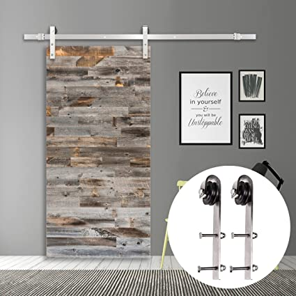 Storage Cabinets with Barn Doors