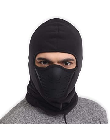 Balaclava Fleece Hood   Ski Mask with Air Mask - Heavyweight Extreme Cold  Weather Face Mask 10f4eed016