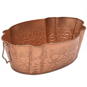 Achla Designs C 52 C Geprägt Kupfer Finish Badewanne Amazonde Garten