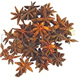 Prakrti Star Anise (चक्र फूल - Chakra Phool) - good export quality sourced fresh from farms in the hills of Kerala and Karnataka - 50 gms