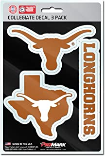 product image for NCAA Texas Longhorns Team Decal, 3-Pack