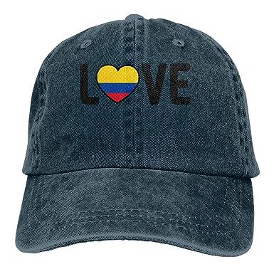 OOworld Gorra de béisbol para Hombres, Mujeres, Colombia Pride ...