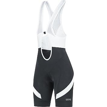 Gore Wear Women s C5 Padded Seat Bibtight Shorts - Black White b2930029c