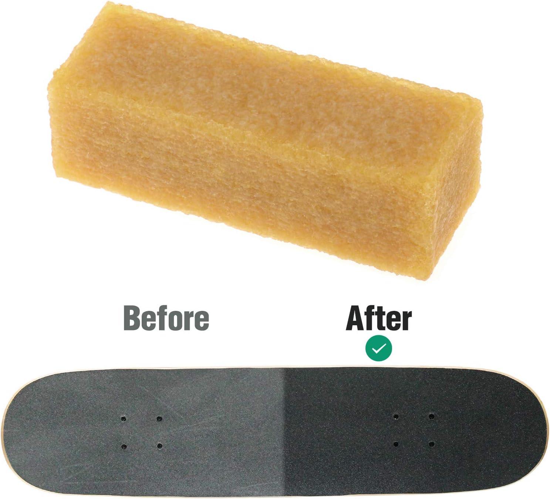 Baoblaze Skateboard Griptape Cleaner Reiniger Aus Gummi Für Skateboard Oder Longboard Sport Freizeit