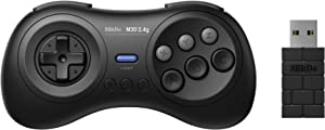 8Bitdo M30 2.4G Wireless Controller Gamepad for Sega Genesis Mini and Mega Drive Mini