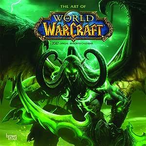 Grupo Erik Editores Worlds Of Warcraft - Calendario 2017