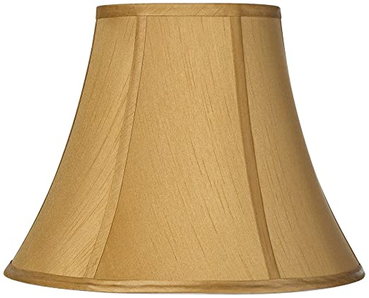 Coppery gold bell lamp shade 7x14x105 spider lampshades coppery gold bell lamp shade 7x14x105 spider lampshades amazon aloadofball Gallery