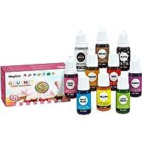 Colorante Alimentario Líquido WayEee Colorante Alimentario 10 Colores de Alta Concentración Liquido para Colorear…