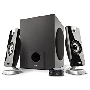 Cyber Acoustics 2.1 Subwoofer Speaker System with 18W of Power