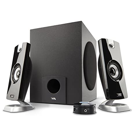 Cyber Acoustics 2 1 Subwoofer Speaker System with 18W of Power – Great for  Music, Movies, Gaming, and Multimedia Computer Laptops (CA-3090)