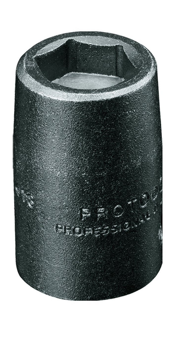 Stanley Proto J7214MHF 3/8-Inch Drive Metric High Strength Magnetic Impact Socket, 14mm, 6-Point 6 Point