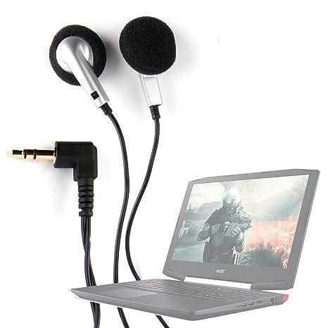 DURAGADGET Auriculares con Cable para el Portátil Acer Aspire E5-523G-958X, Acer