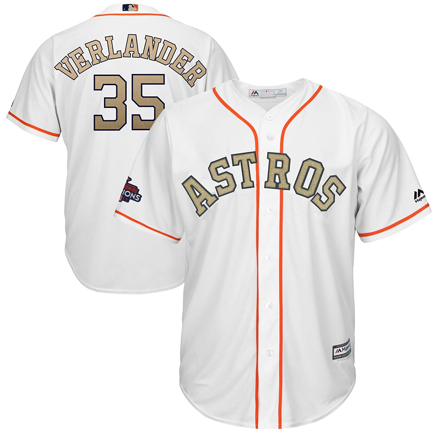 watch 1b942 449d2 Amazon.com : Outerstuff Justin Verlander Houston Astros #35 ...