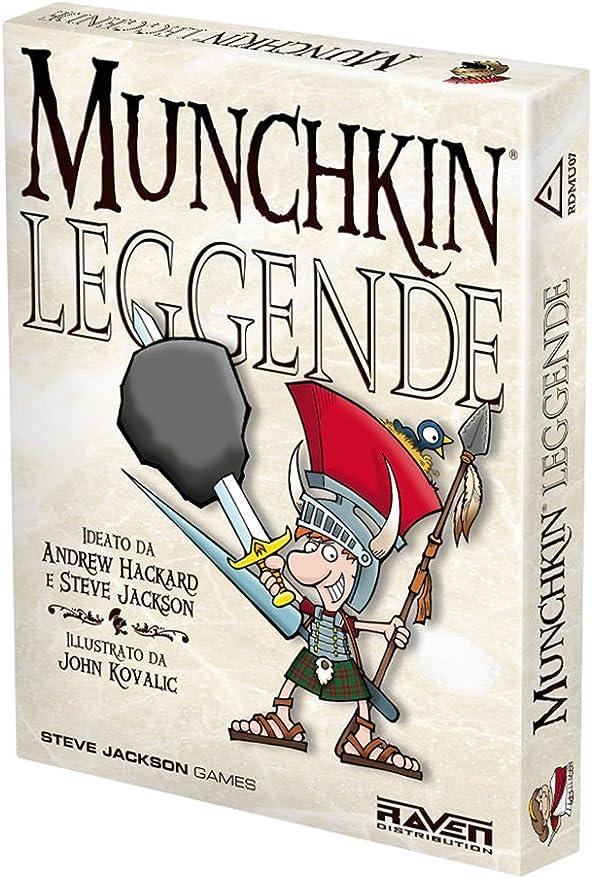 Raven Cuervo - Munchkin, Legends: Amazon.es: Juguetes y juegos