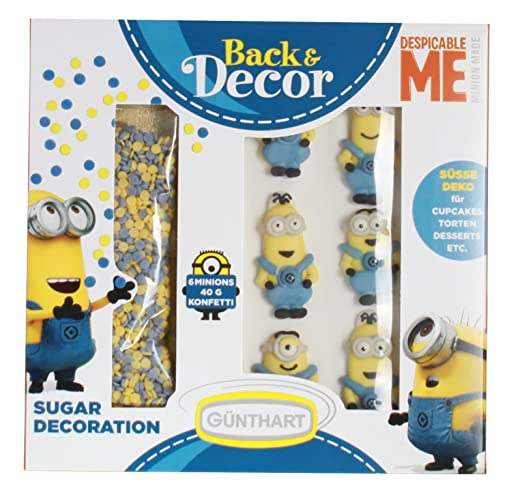 günth Art backdecor Minions - Set | GRU - Mi Villano ...