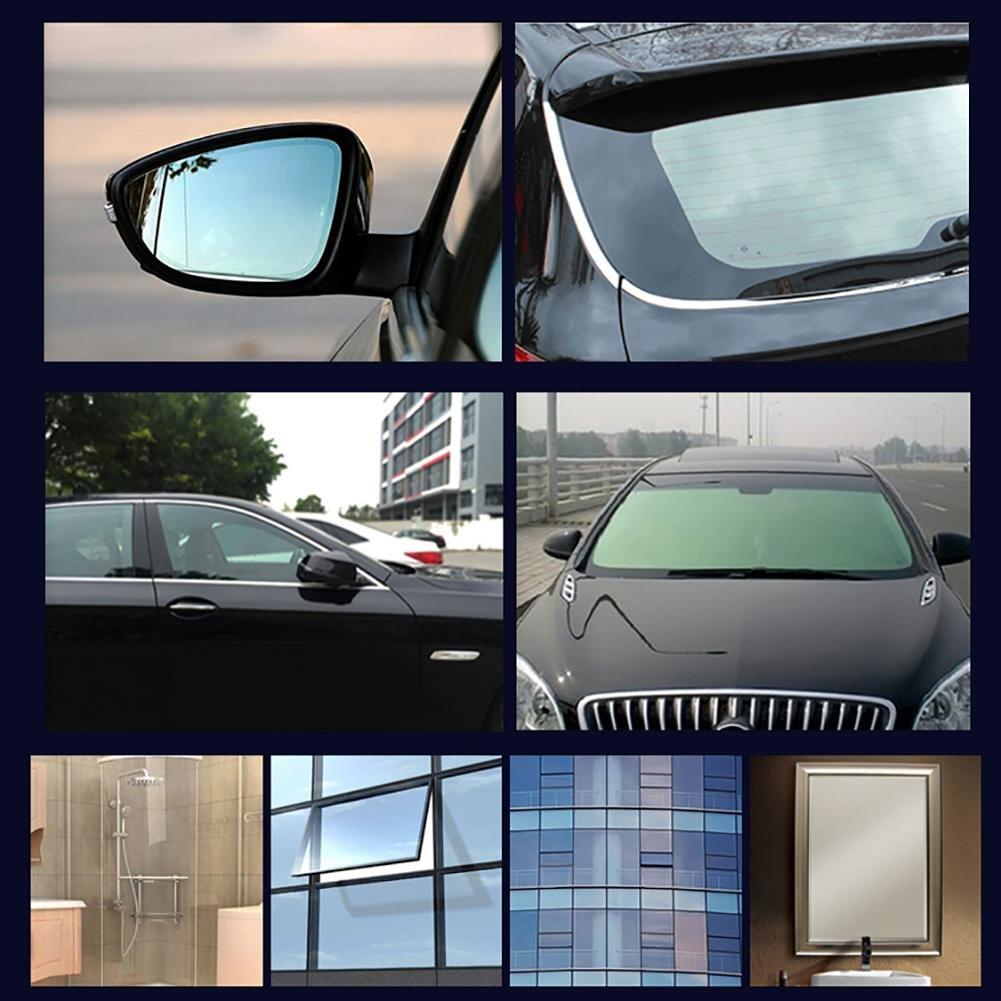 AOLVO - Spray hidrofóbico para Cristal, antilluvia para Parabrisas Delantero de automóvil, repele la Lluvia y el Agua asegurando una Visibilidad Clara y ...