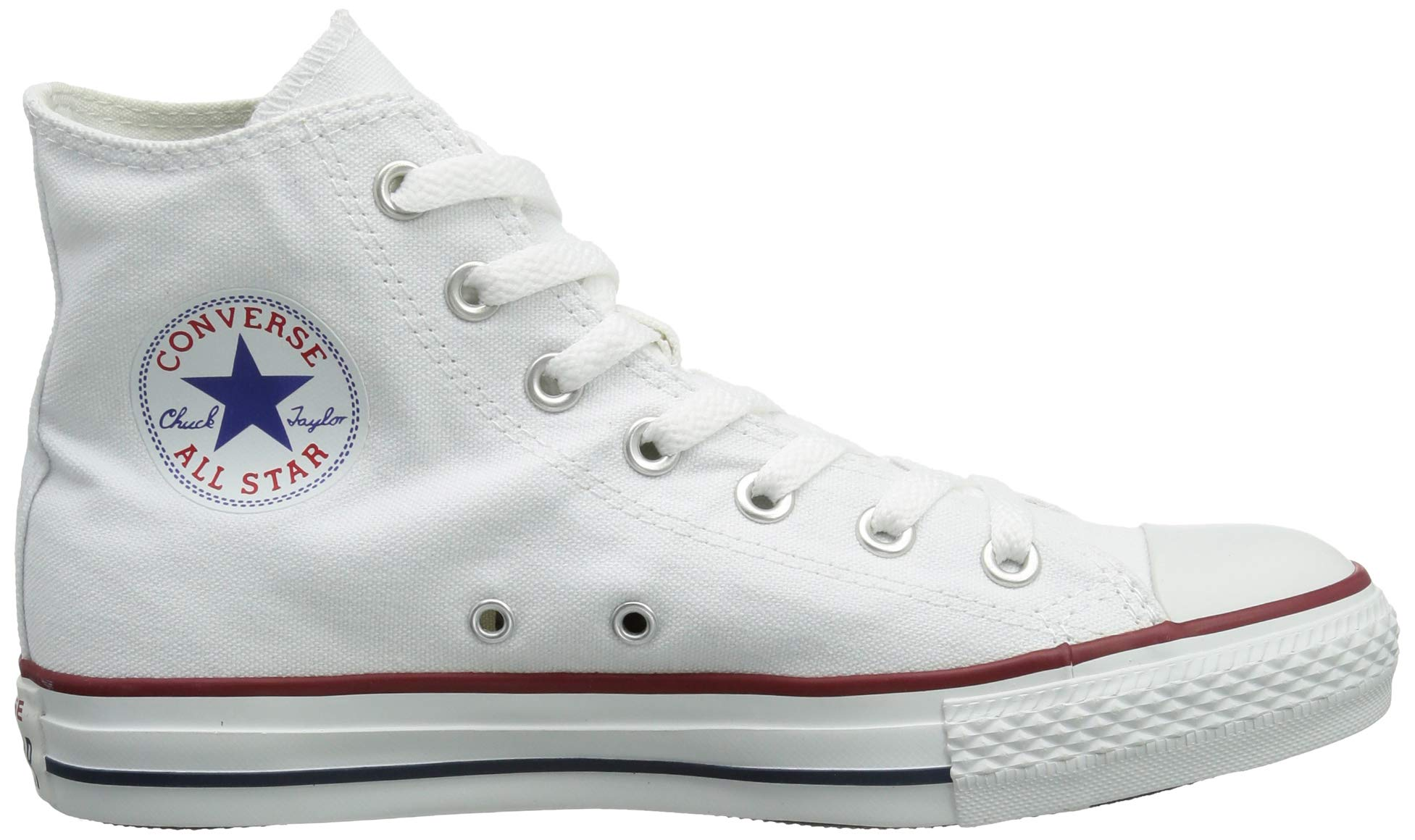 Chuck Taylor All Star Canvas High Top, Optical White, 3 M US by Converse (Image #7)