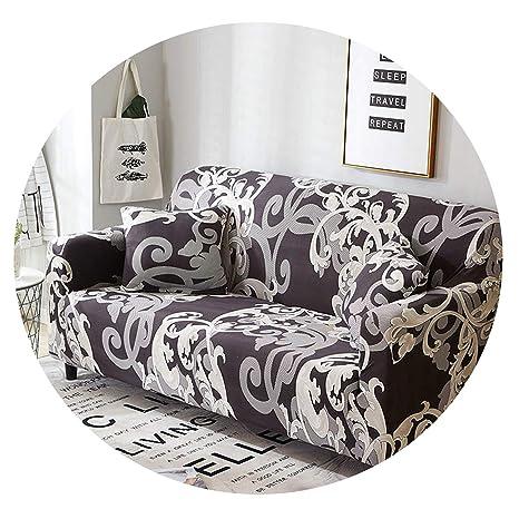 Forever Long Funda de sofá elástica a Cuadros, para Sala de ...
