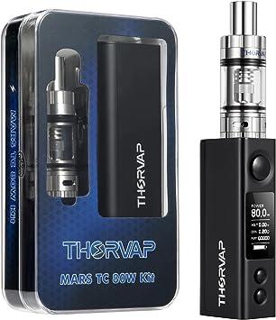 Cigarrillo Electronico, THORVAP® 80W BOX MOD Vaping Kit  Tanque de Relleno a Tope 