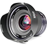 Meike 12mm F/2.8 Ultra Wide Angle Manual Foucs Prime Lens Sony E Mount APS-C Mirrorless Cameras