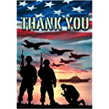 Thank You - USA Military Services - Garden Size Flag 12 Inch X 18 Inch