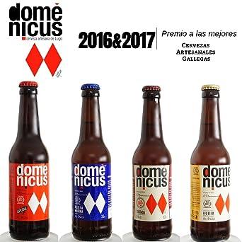 Pack de cervezas Artesanas de Autor Degustación 8x33cl - 2x ...