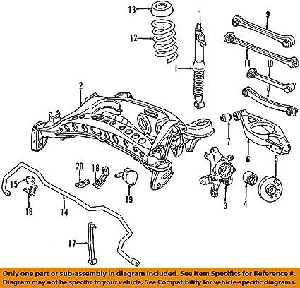 amazon com: mercedes-benz 124 320 02 89, suspension stabilizer bar link  kit: automotive