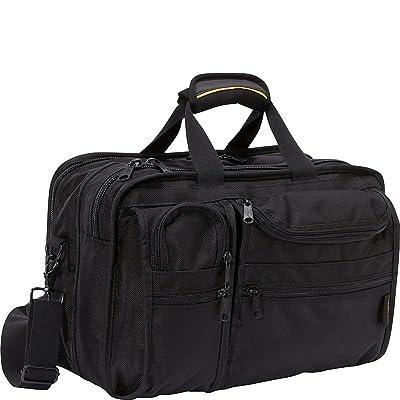 A.Saks Ballistic Nylon Expandable 10 Pocket w/Laptop Compartment