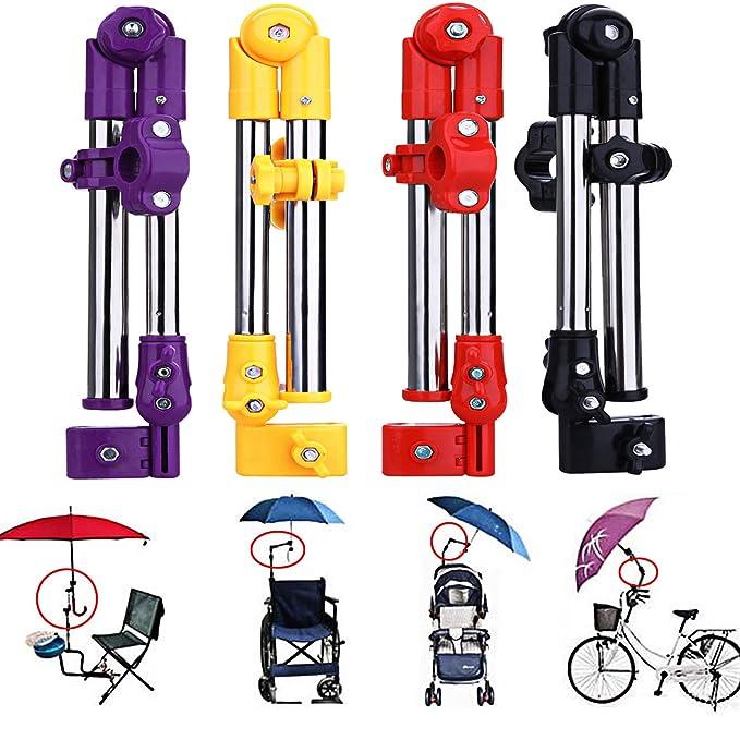 Bebé Cochecito de accesorios, para bicicleta Accesorios - Soporte para paraguas - pantalla plana soporte mango, por Smartpro: Amazon.es: Bebé