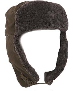 a8ec6e89d489c1 Genuine Czech Army Issued M85 Winter Faux Fur Trappe Ushanka Hat GRADE 1