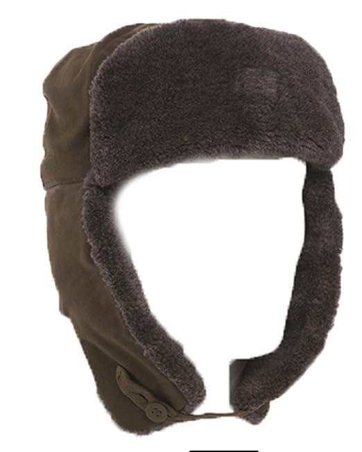 Auténtica etiqueta Suiza Checa M85 Ushanka de calcetines de calidad gorro  de funda con tapa 1 Trappe  Amazon.es  Ropa y accesorios ab6f0d38bf9