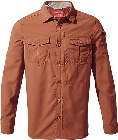 Craghoppers NL ADV LS Shirt Camisa para Hombre: Amazon.es: Ropa y accesorios