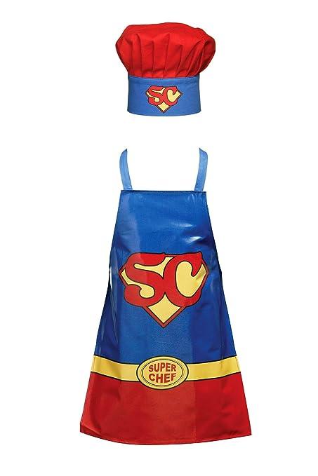 Premier Housewares Superchef Set grembiule e cappello da chef per bambini  in PVC 040aae13d53b