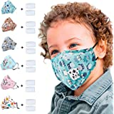 TOPOP Kids' Mack Baby 5PC Reusable Dustproof Pollution Respirator Cover Macks (G)