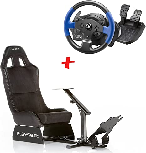 MadridGadgetStore Pack Playseat Evolution Alcantara + Volante + ...