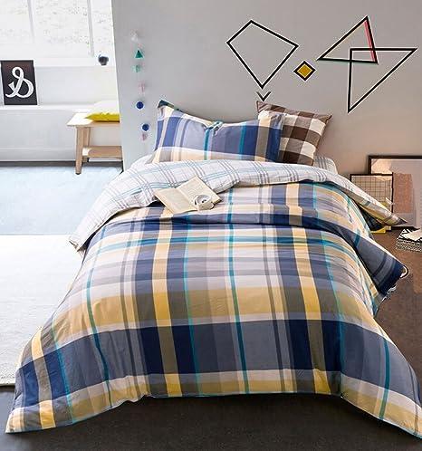 Letto Singolo In Inglese.Xixi Cotone Bed Cover Quilt Tre Pezzi Cotton Fumetto Letto Singolo