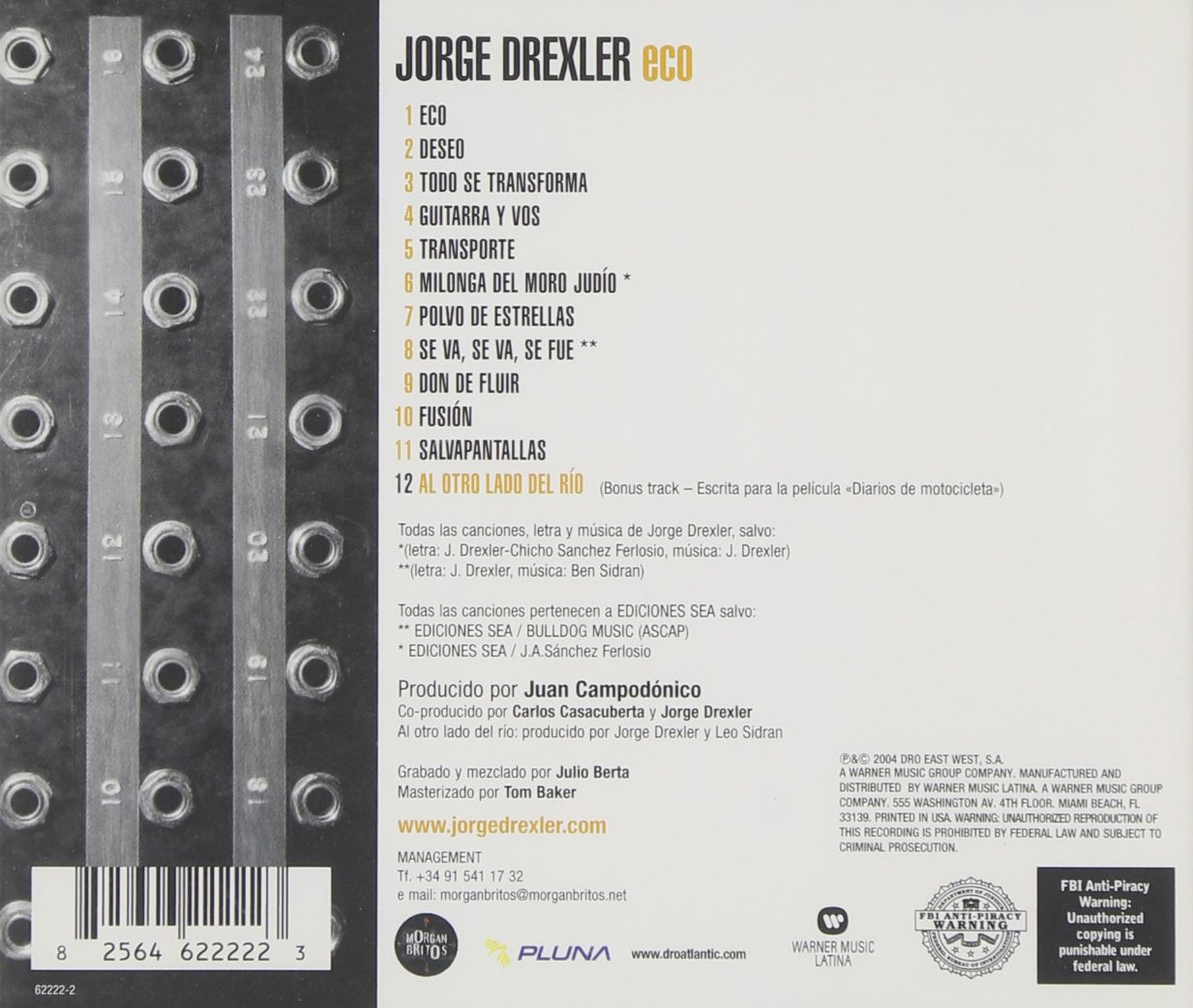 cd eco jorge drexler