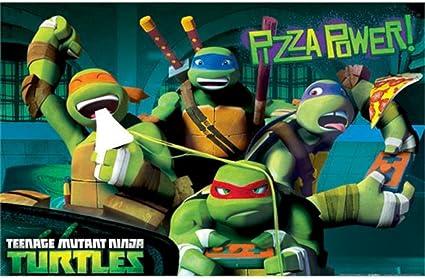 Amazon.com: Teenage Mutant Ninja Turtles Character Party ...