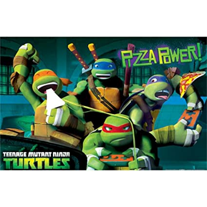Amazon.com: Teenage Mutant Ninja Turtles personaje Partido ...
